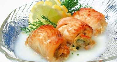 Рецепты вторых блюд из филе рыбы