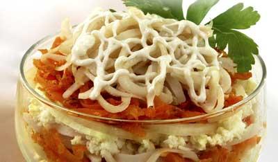 салат со сливками: вкусный праздничный салат, салат фаворит.